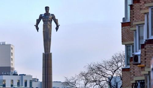 Памятник Гагарину в Москве отреставрируют — Сергунина