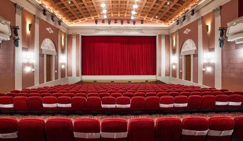 Москвичам рассказали, как шла реставрация кинотеатра «Художественный»