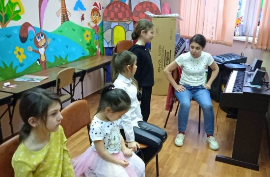 В досуговом центре «Обручевский» состоялись занятия в студиях «ИзЮшка» и «Соловей»