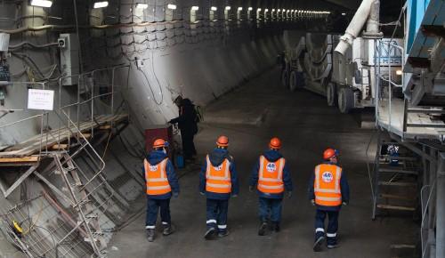 Проходку всех тоннелей БКЛ завершат в 2021 году