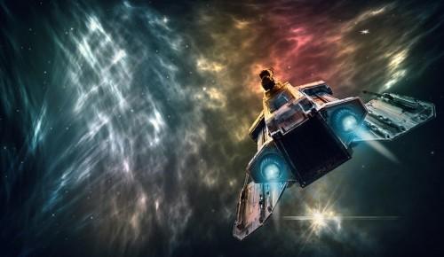 В галерее «Листок» в День космонавтики дали старт выставке «Космос глазами детей»