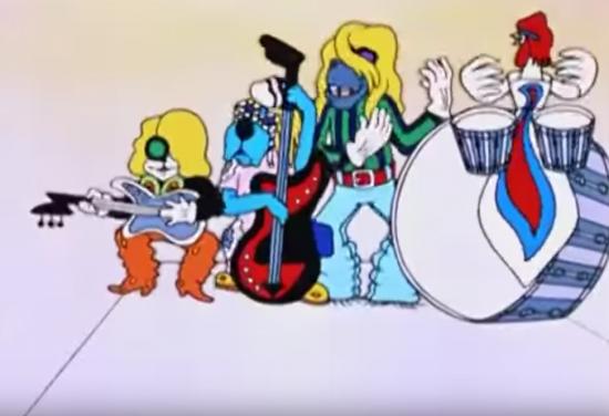 Бременских музыкантов и Чебурашку можно увидеть в тематическом поезде на серой ветке метро