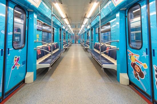 «Союзмультфильм» запустил тематический поезд по серой ветке московского метро