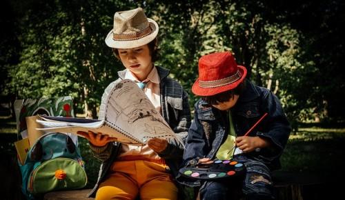 Маленьких жителей Котловки научат мастерить и рисовать