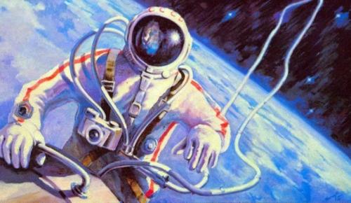 Центр«Исток» приглашает на онлайн-лекцию, посвящённую Дню космонавтики
