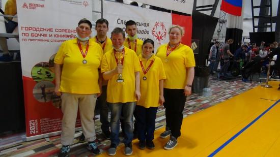 По программе Специальной Олимпиады жители Обручевского района выступили на городских соревнованиях