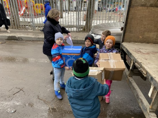 Экологическая акция «Бумажный бум» состоялась в школе № 1205