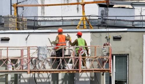 Специалисты  Мосгосстройнадзора проверяют качество работ в доме по программе реновации