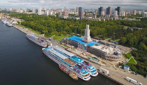 Северный речной вокзал станет флагманом нового сезона речной навигации