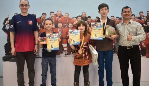 Воспитанники Дворца пионеров успешно выступили на детском чемпионате по настольному хоккею