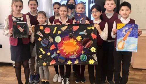 В школе № 45 прошли мероприятия, посвященные Дню космонавтики