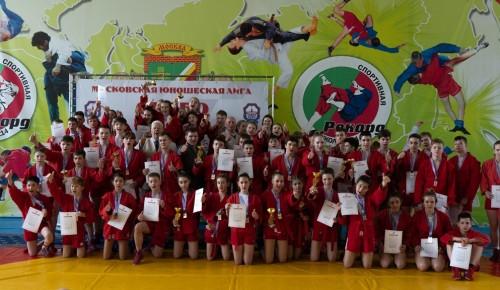 Спортсмены «Самбо-70» стали победителями городского турнира