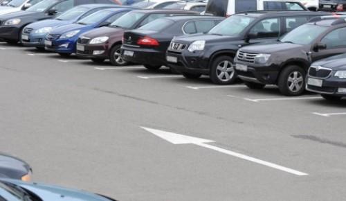 Абонемент на парковку со шлагбаумом на май можно продлить до 25 апреля