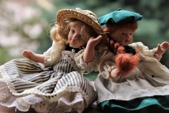 Посмотреть выставку кукол из частной коллекции можно в библиотеке № 186