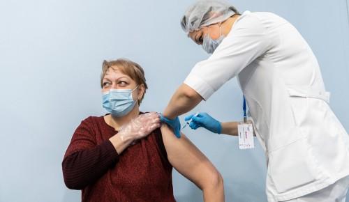 Привиться от COVID-19 жители Академического района могут в двух пунктах вакцинации