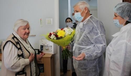 Жительница Теплого Стана отметила 100-летний юбилей