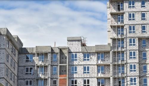 Новостройку на 176 квартир по реновации в Южном Бутове введут в эксплуатацию в этом году