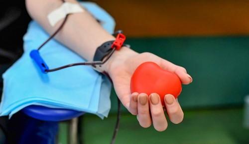 Донорами крови в 2020 году стали 85 тысяч жителей Москвы