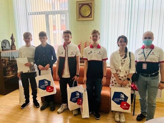 Школьники Конькова успешно выступили на турнире молодых профессионалов