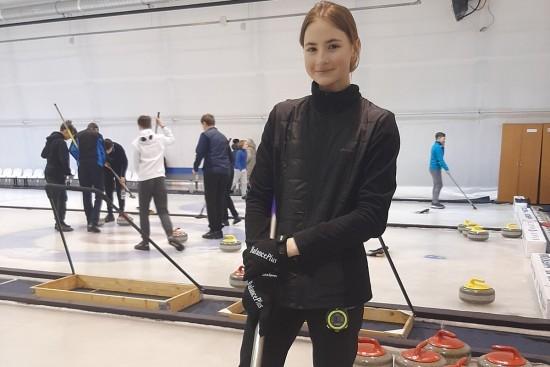 Керлингистка из Южного Бутова готовится выступить в Кубке Победы