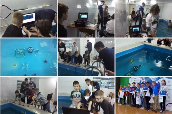 Школьники из Котловки стали призерами окружных соревнований по робототехнике
