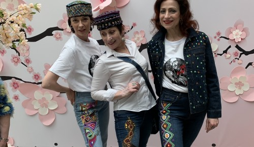 Возрастные модели из Конькова приняли участие в Международном фестивале