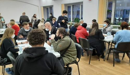 В Черемушках обсудили проект благоустройства дворовой территории по программе «Мой район»
