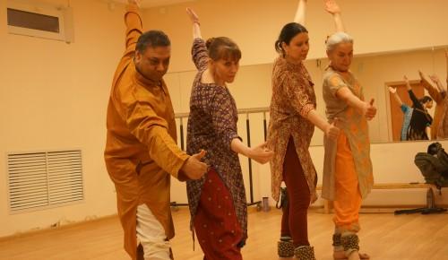 В студии индийского танца «Таранг» проходят бесплатные занятия для жителей Черемушек
