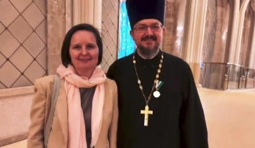 Настоятелю Казанского храма вручили медаль «Патриаршая Благодарность»