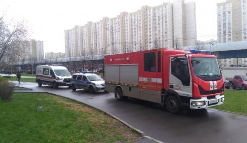 Ребенку в Южном Бутово понадобилась помощь спасателей Московского авиацентра