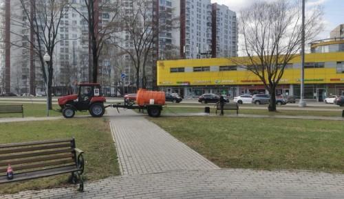 Весеннюю уборку в Теплом Стане планируют завершить до конца апреля