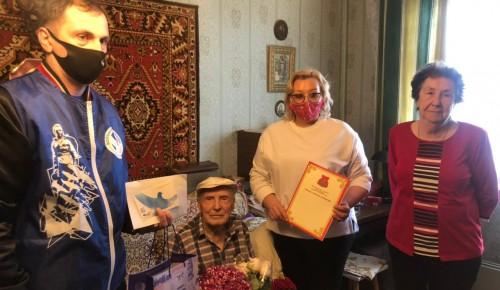 Ветеран Великой Отечественной войны из Конькова отметил 95-летний юбилей