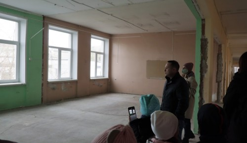 Строители закончили демонтажные работы в школе № 17