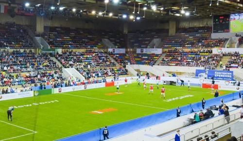 Футбольный турнир «Кубок Легенд» в этом году пройдет во Дворце гимнастики в Лужниках