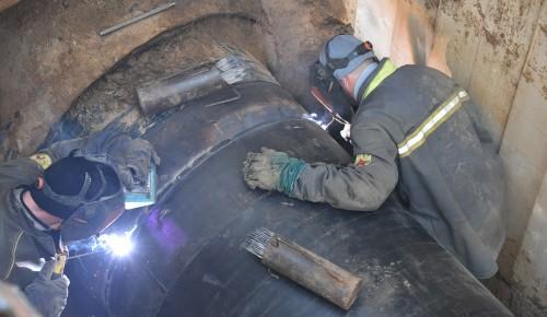 На Нахимовском проспекте  приступили к реконструкции газопровода
