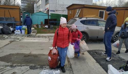 В храме священномученика Василия в Конькове провели благотворительную акцию