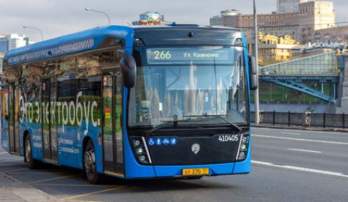 В Москве будут выпускать по 500 электробусов в год