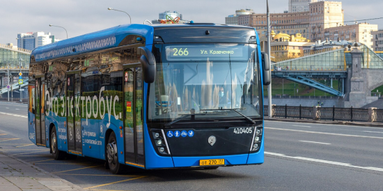 Мэр Москвы Сергей Собянин открыл завод по производству электробусов