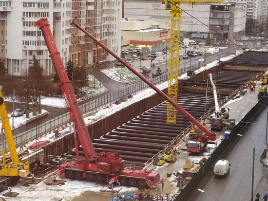 Этой весной планируется завершить строительство левого тоннеля от «Зюзино» до «Воронцовской»