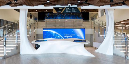 Площадка «Цифровое деловое пространство» стала лучшим проектом года в сфере реконструкции общественных пространств