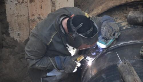 МОСГАЗ рассказал о реконструкции  газопровода на Нахимовском проспекте