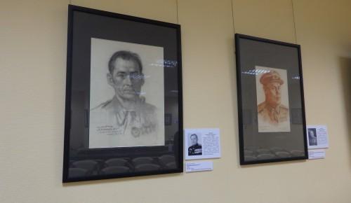 """Выставку """"Портрет с фронта"""" в Академическом районе можно посмотреть до 12 мая"""