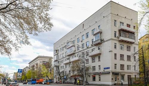 Фасады исторических зданий на Люсиновской улице отремонтируют