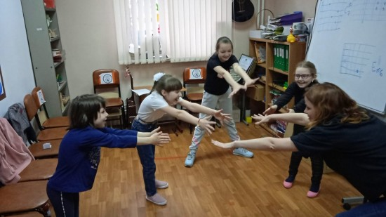 В Центре досуга и спорта «Обручевский прошли занятия театральной студии