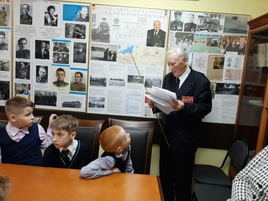 В Центре патриотического воспитания в Бутове открылась комната славы героя Советского Союза Василия Соловьева