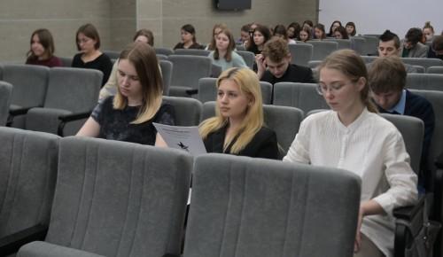 Студенты Института Пушкина поучаствовали в Диктанте Победы