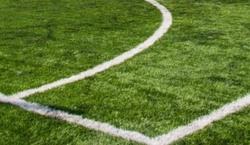 В районе Ясенево идёт обустройство футбольного поля