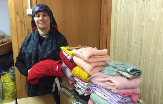 Жители Теплого Стана отправили благотворительную помощь в Дом ребенка