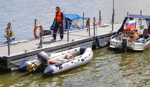 Собянин призвал москвичей не забывать о правилах безопасности на водах
