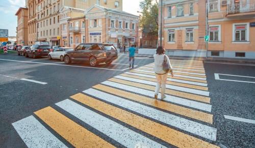 После «апгрейда» диагональный переход на Южнобутовской улице будет выглядеть по-новому